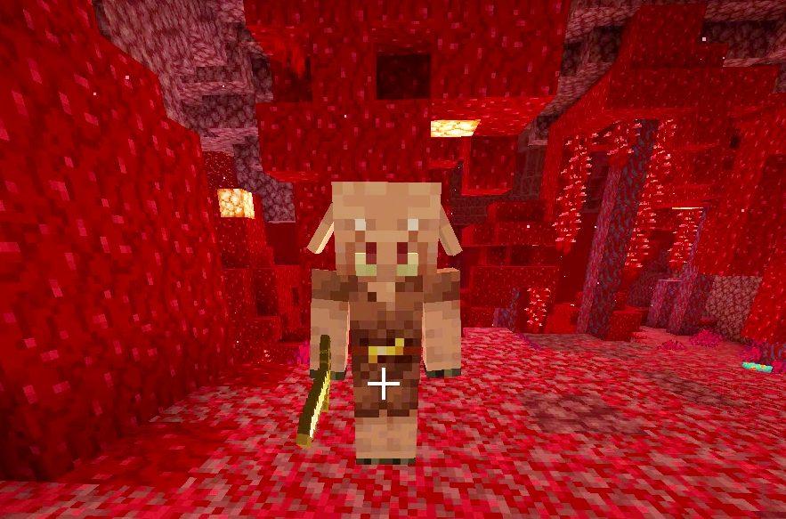 真紅の森のピグリン